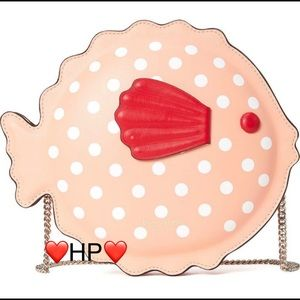 KATE SPADE NEW YORK puffy pufferfish crossbody bag